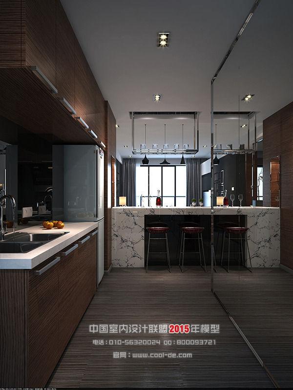 3d Interior Room Design: Luxury Minimalist Interior Design Living R... 3D Model