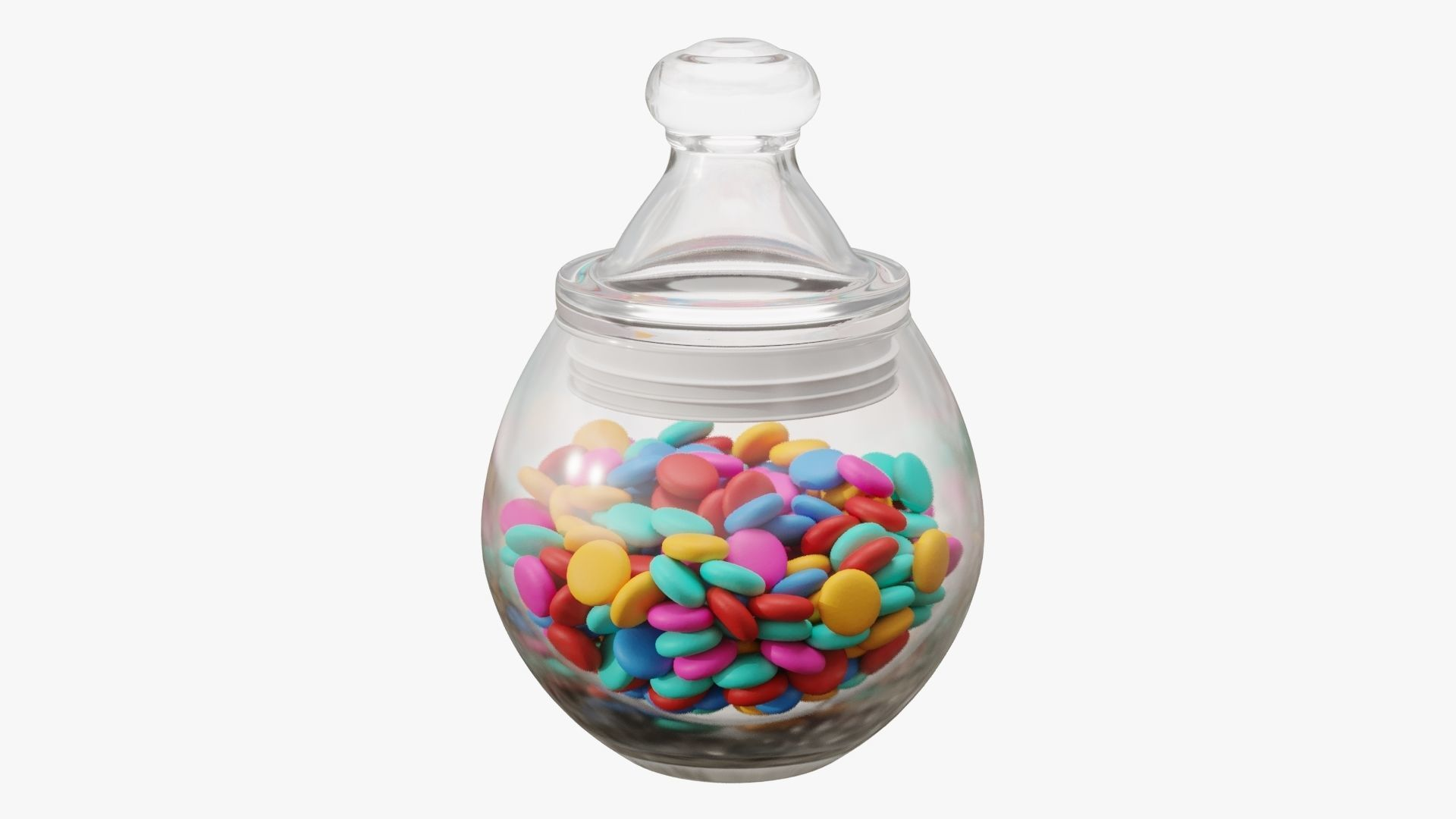 Candies in the jar