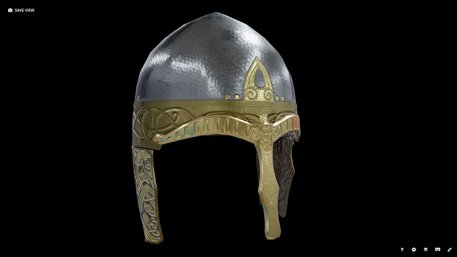 Viking Helmet Spangenhelm
