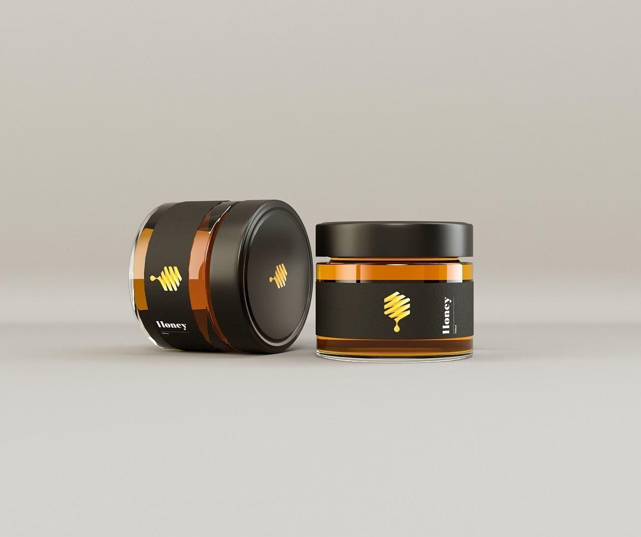 Cosmetic Jar  Honey Jar  Beauty Cream