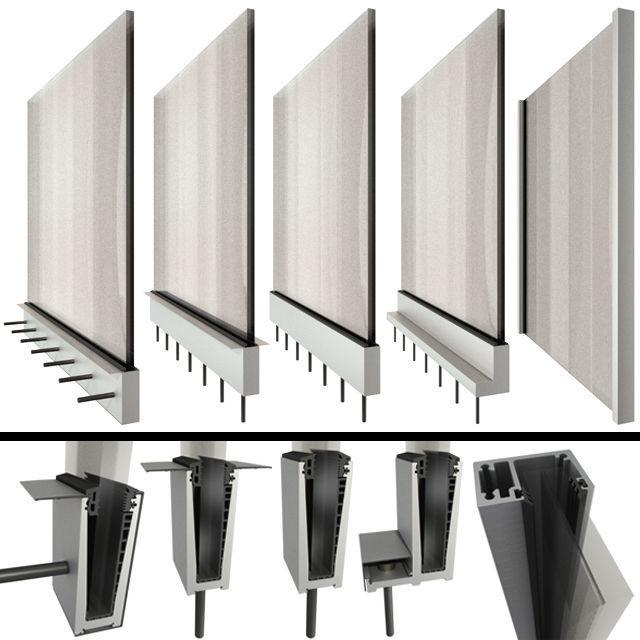 Glass railing handrails