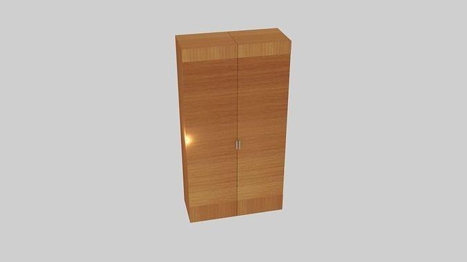 Exhibit Wood Wardrobe