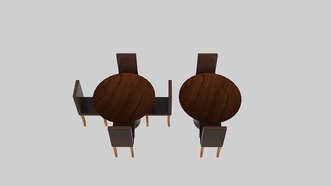 Dine Exhibit Table Chair