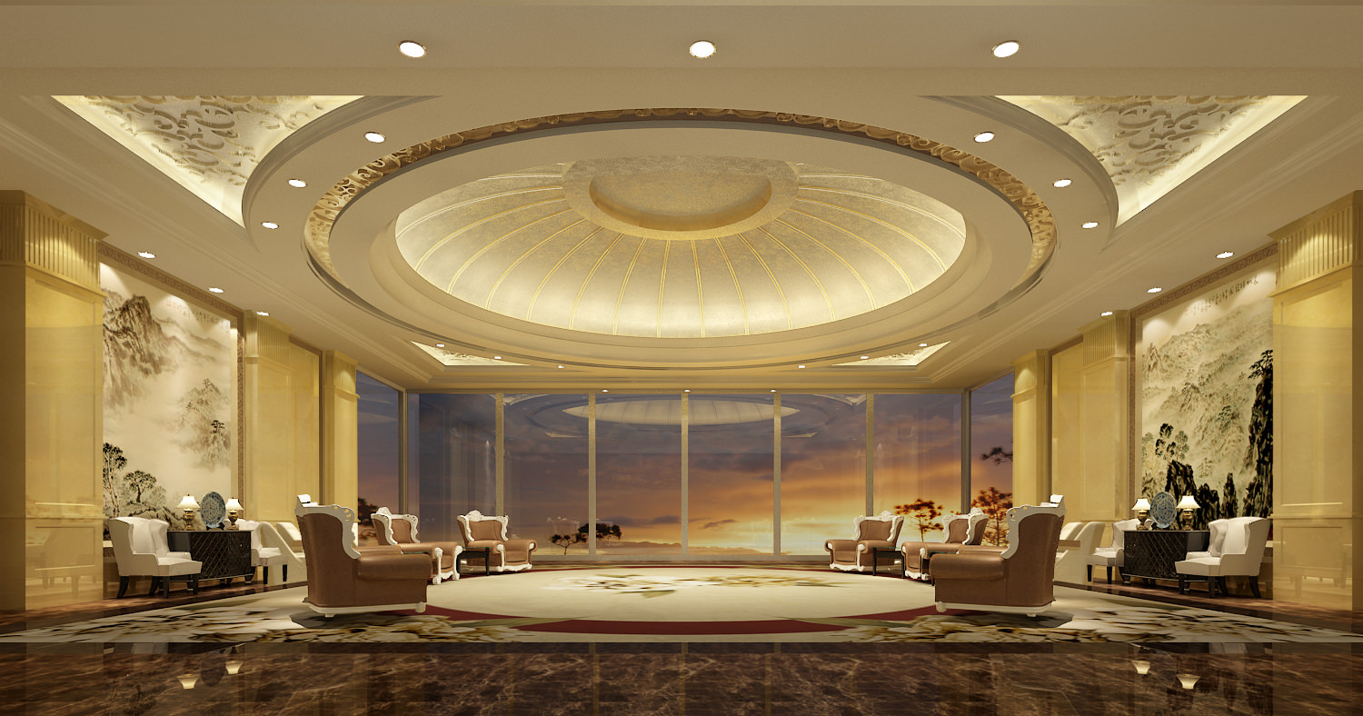 Luxury conference room 3D Model MAX FBX  CGTrader.com