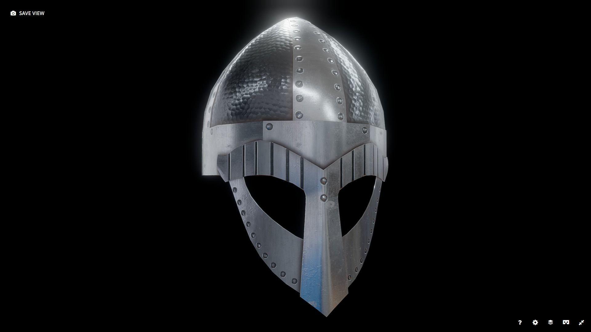 Viking Helmet Spangenhelm 2
