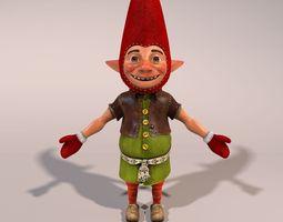3D model Christmas Elf christma-sleigh