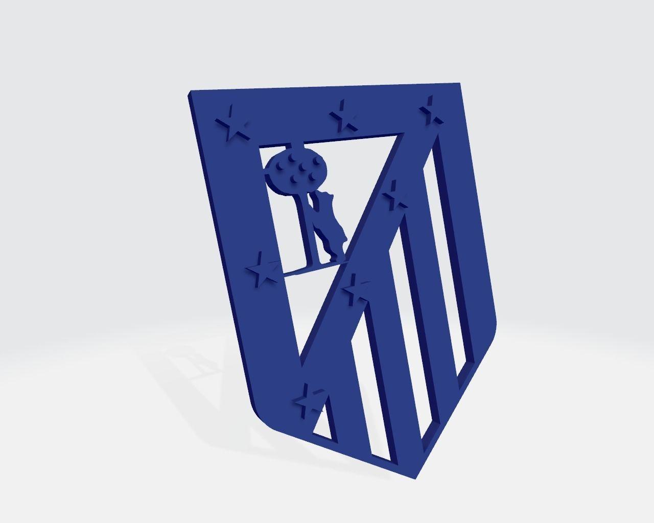 Atletico de Madrid escudo clasic
