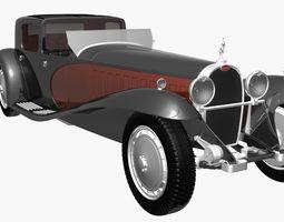 Bugatti Type 41 Napoleon 3D Model