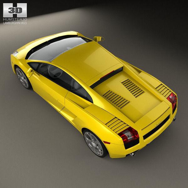 Captivating ... Lamborghini Gallardo 2003 3d Model Max Obj Mtl 3ds Fbx C4d Lwo Lw Lws  10 ...
