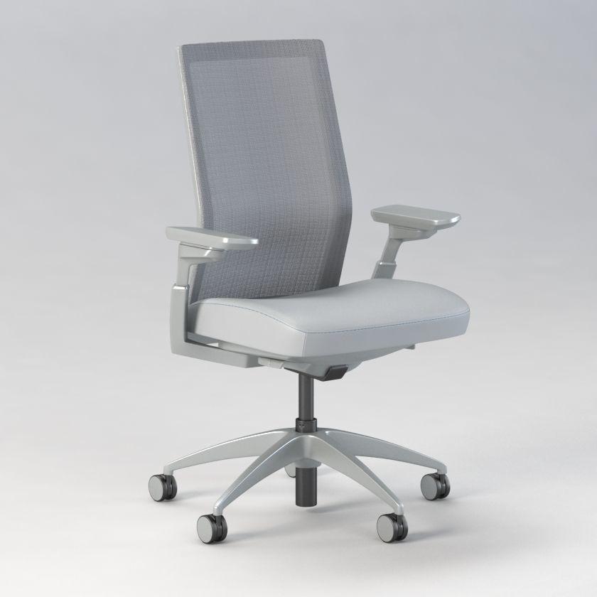 Allsteel Evo Office Chair 3d Model Cgtrader