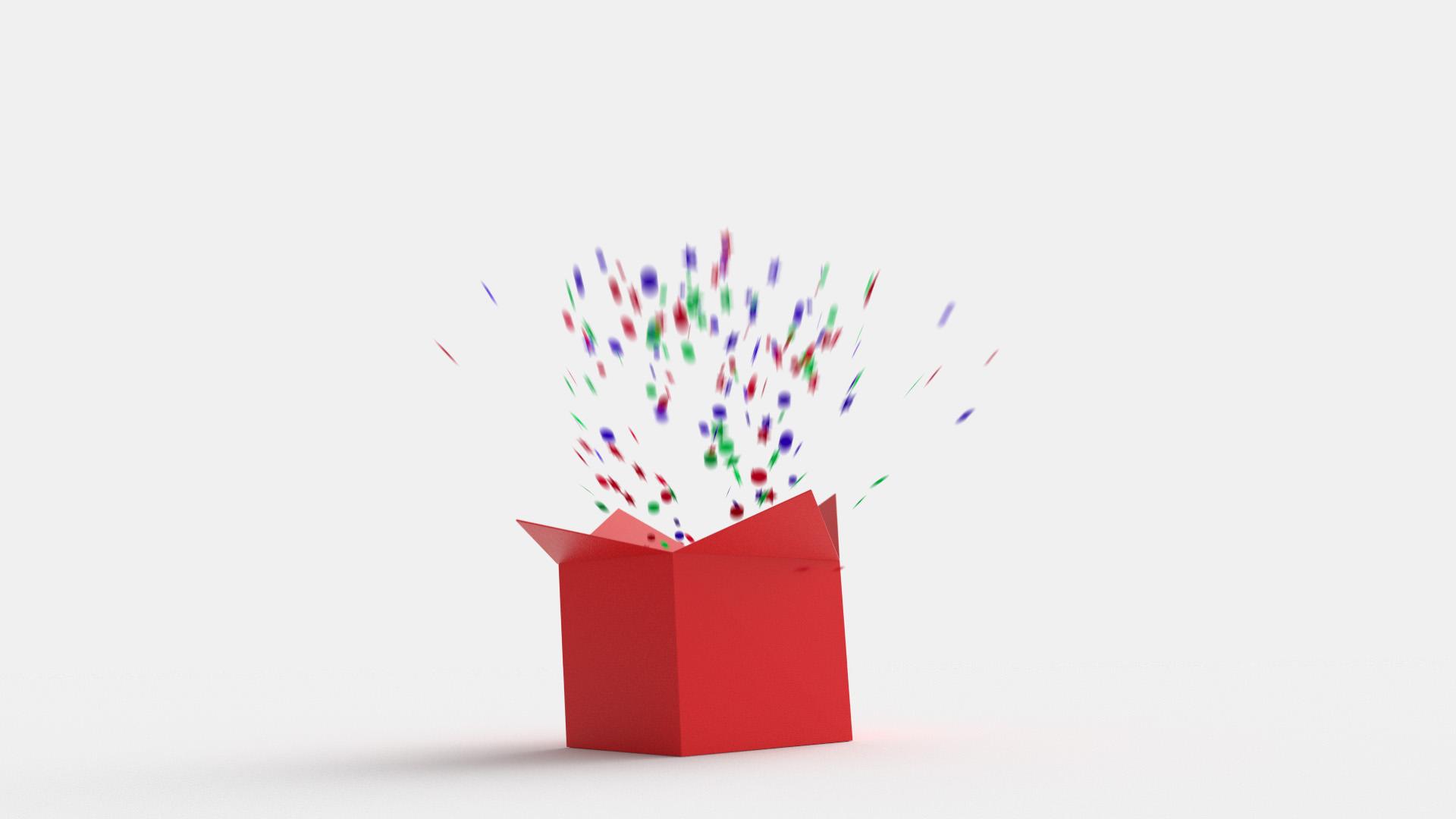 Animated Present Box