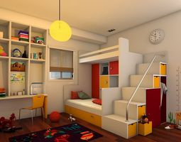 Kids BedRoom 3D