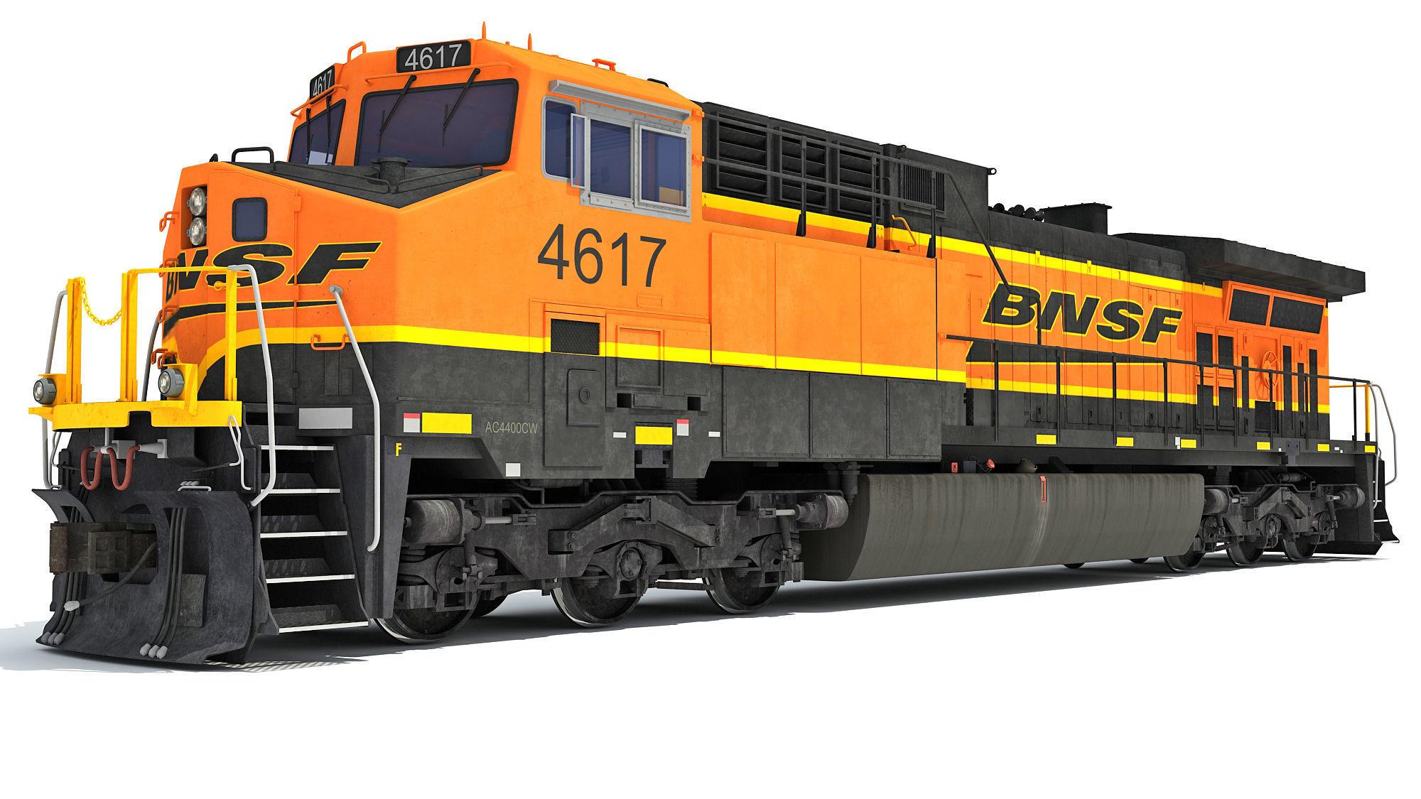 Locomotive GE AC4400CW BNSF