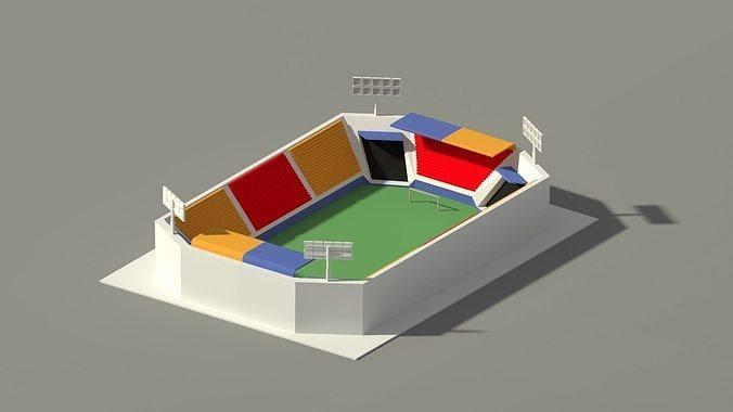 Low Poly Stadium