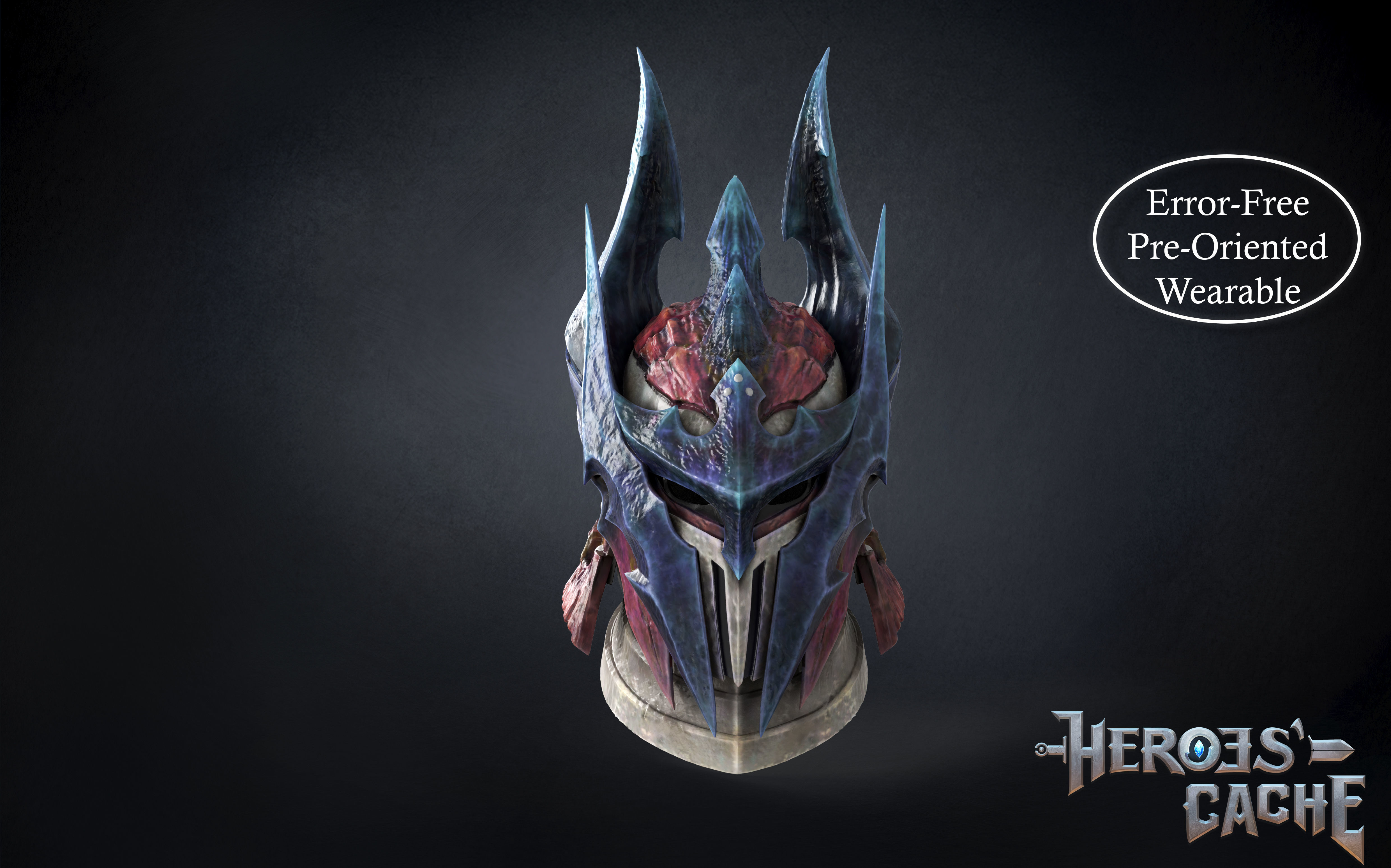 Monster Hunter World Iceborne - Glavenus Beta Helmet