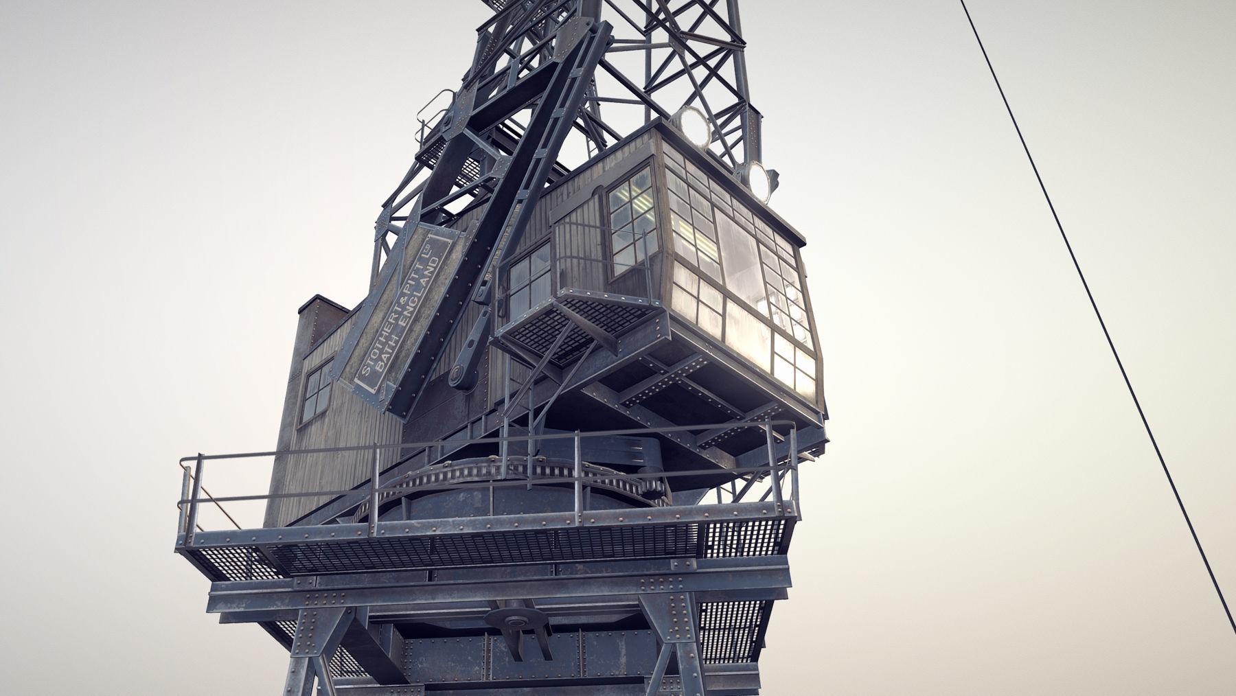 Crane STOTHERT-PITT livery ver-3