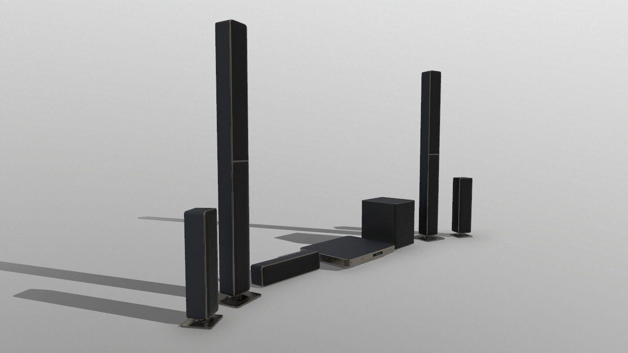 Surround Sound System Bar