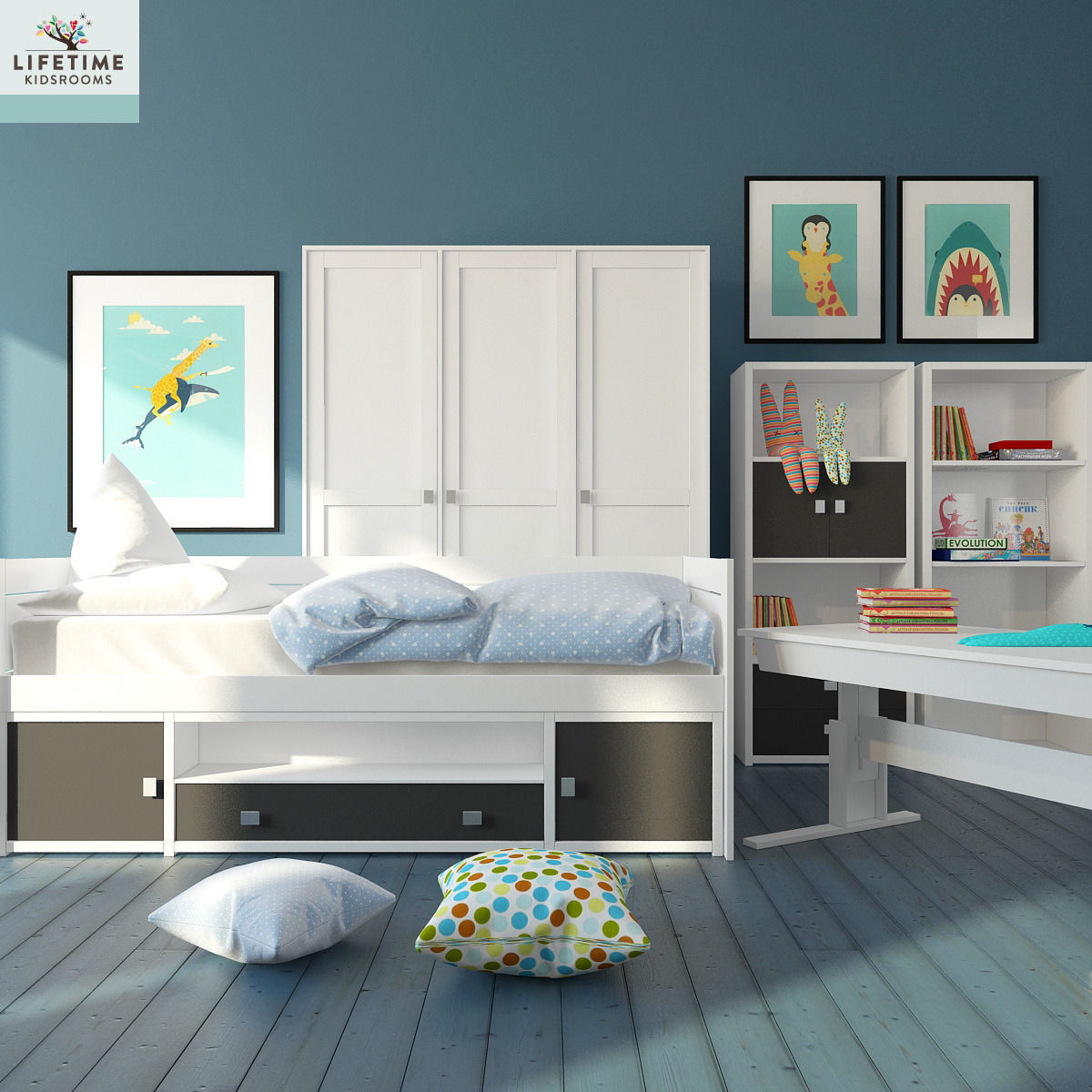 Kids Bedroom 3d Model kid bedroom 3d | cgtrader