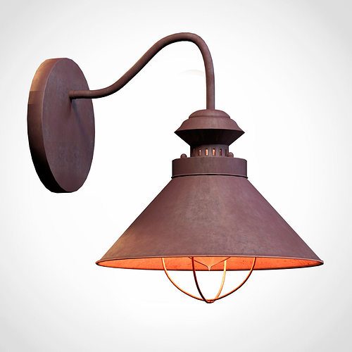 table lamp nowodvorski 5664 loft 3d model obj fbx mtl 1