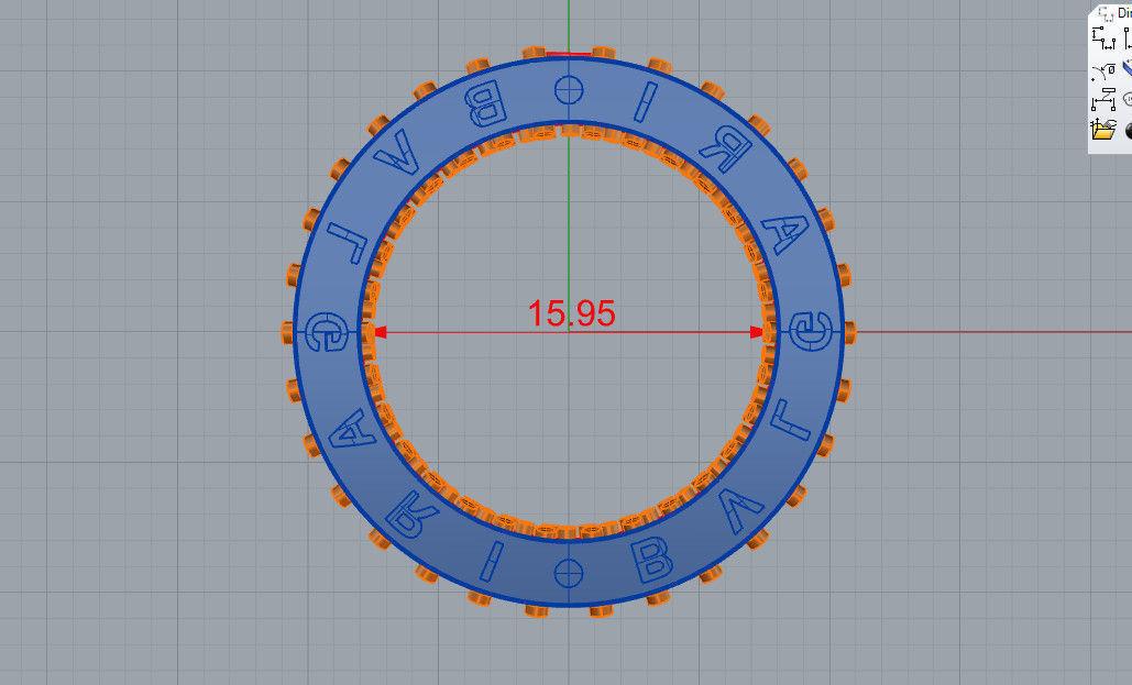 ring bulgari 3d model 3d printable stl 3dm cgtrader com