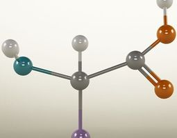 Molecule Amino Acid 3D Model
