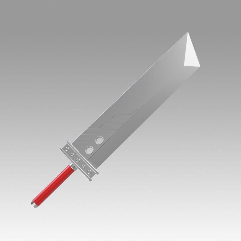 Final Fantasy VII FF7 Cloud Strife Sword