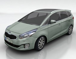Kia Carens 3D model