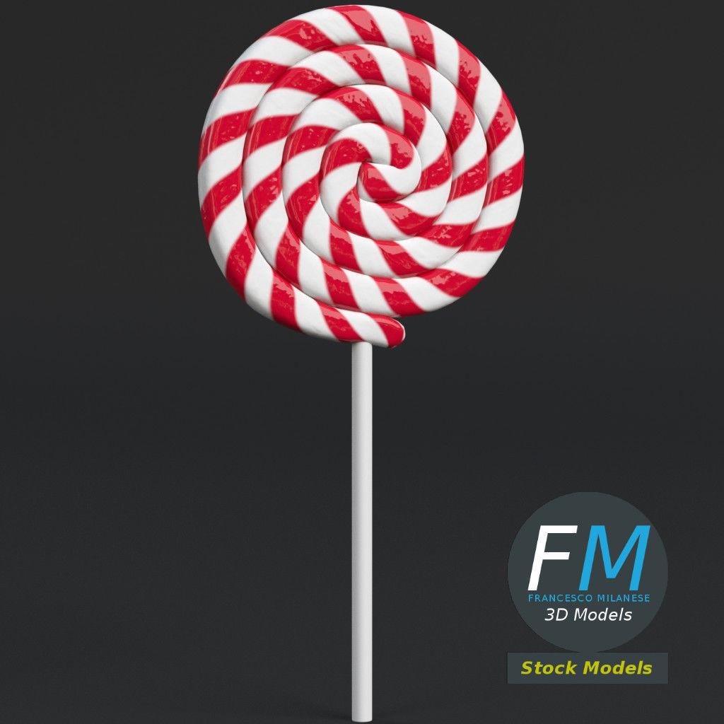 Round lollipop