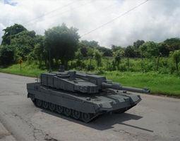 K 2 Black Panther  3D Model
