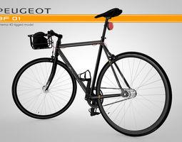 3D model Peugeot AF 01 - Rigged