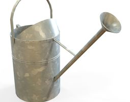 VR / AR ready 3d asset watering can