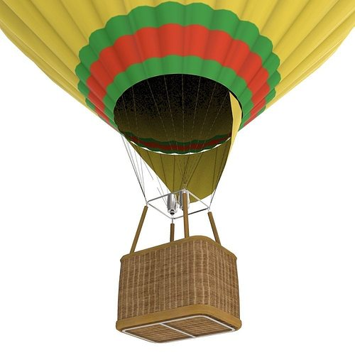 Hot air balloon 3d model game ready cgtrader for Air balloon games