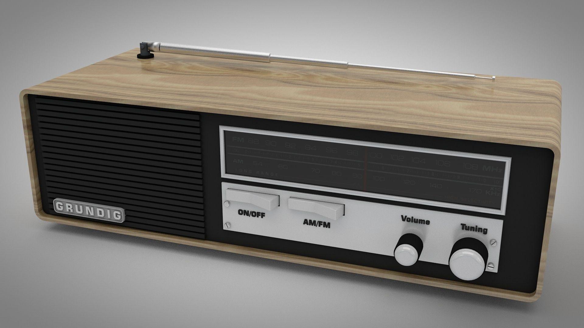 Grundig Vintage Radio 47