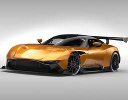Aston Martin Vulcan 2016 3D