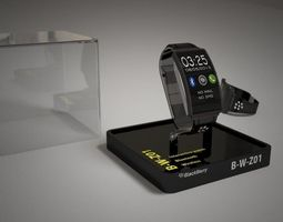 Blackberry SMARTWATCH 3D model