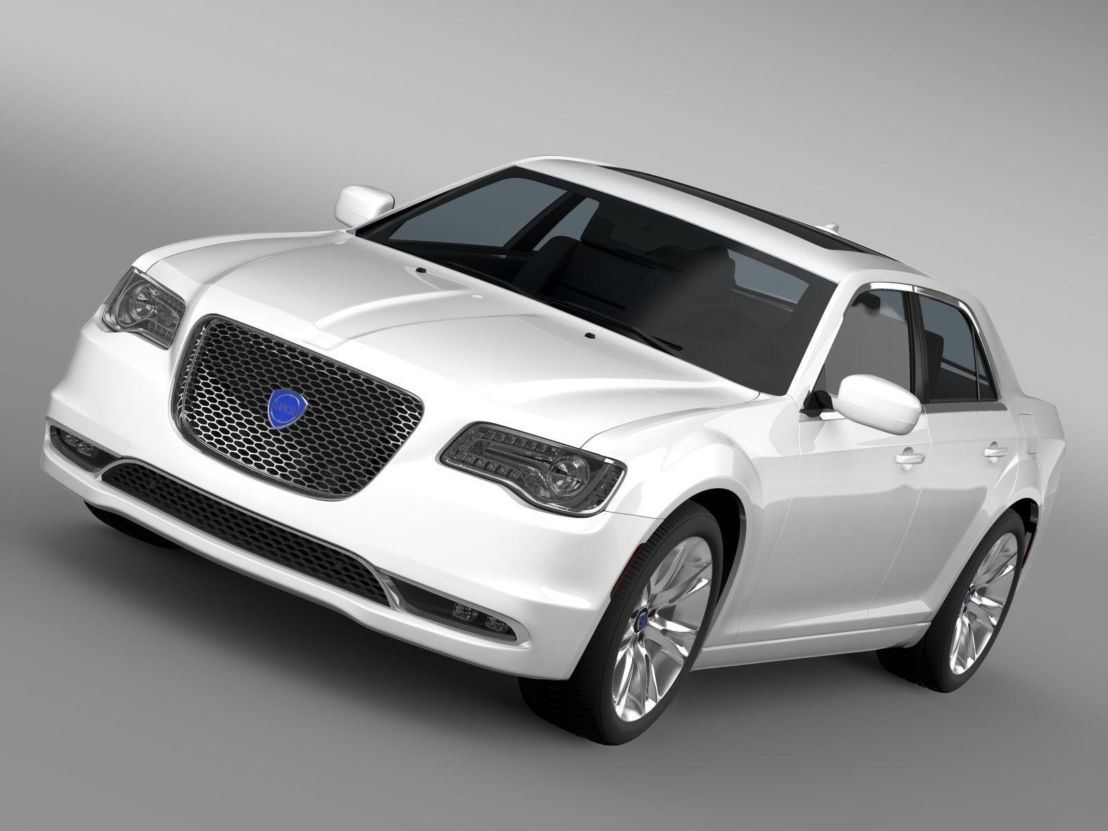 Lancia Thema 2017 3D model | CGTrader