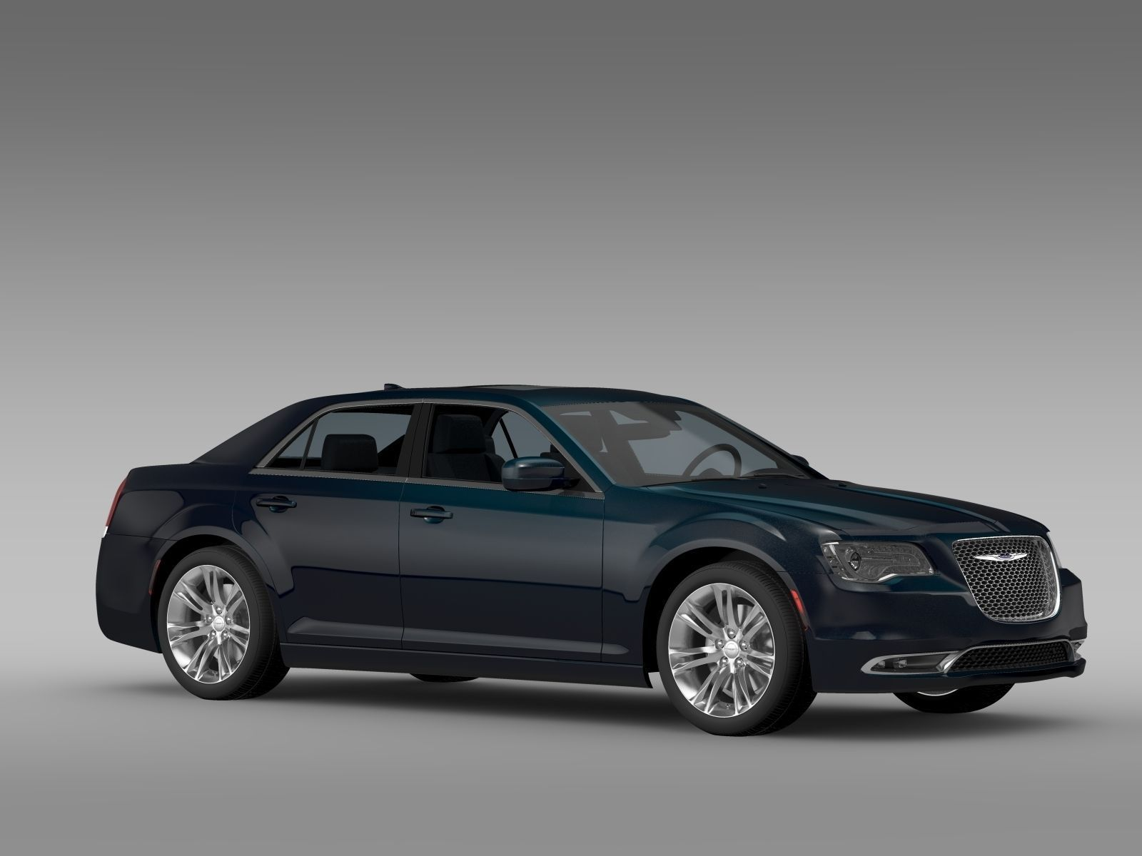 Chrysler 300 C LX2 2016 3D Model .max .obj .3ds .fbx .c4d .lwo .lw .lws - CGTrader.com