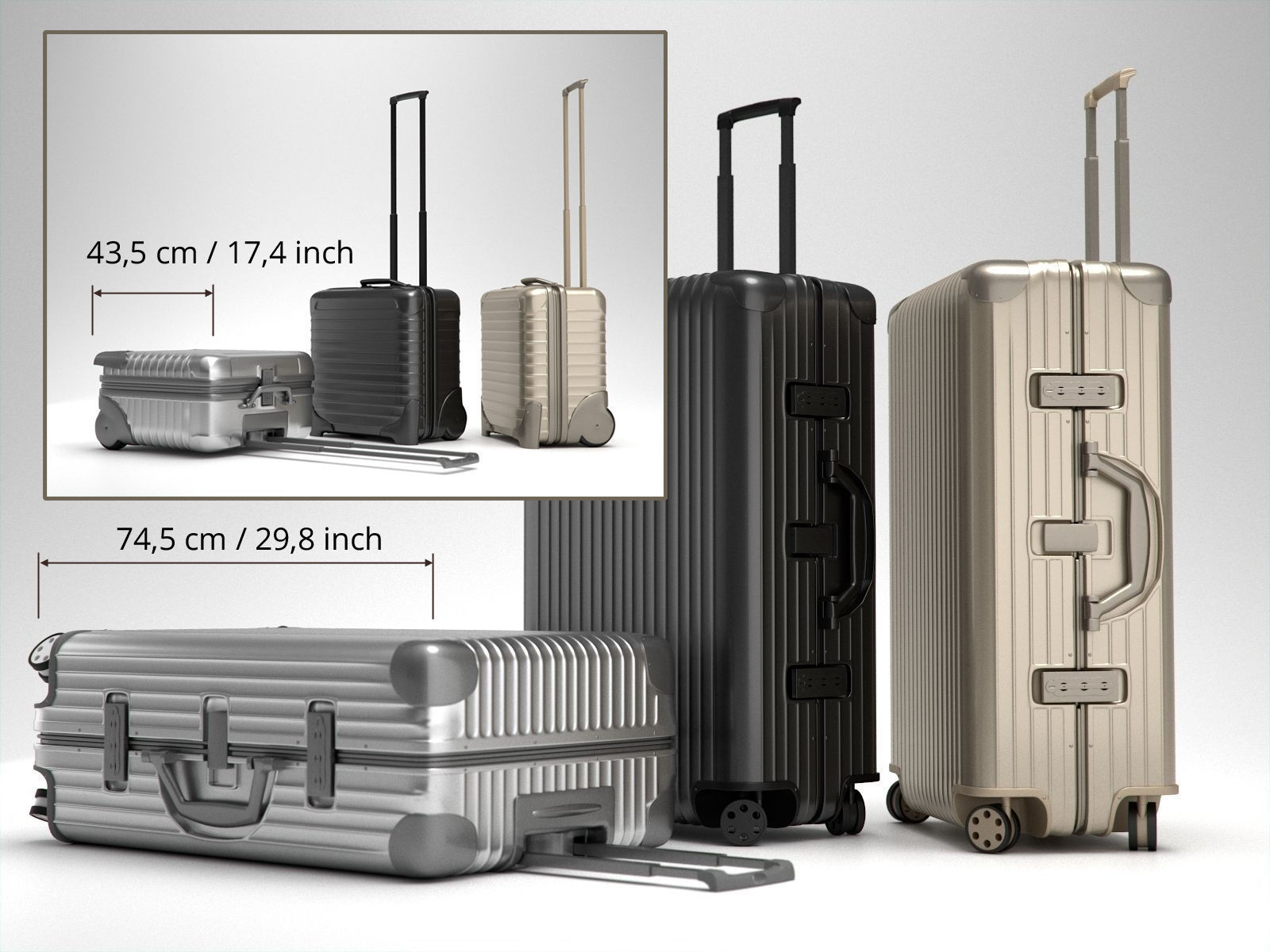 Rimowa Topas Trolley Collection