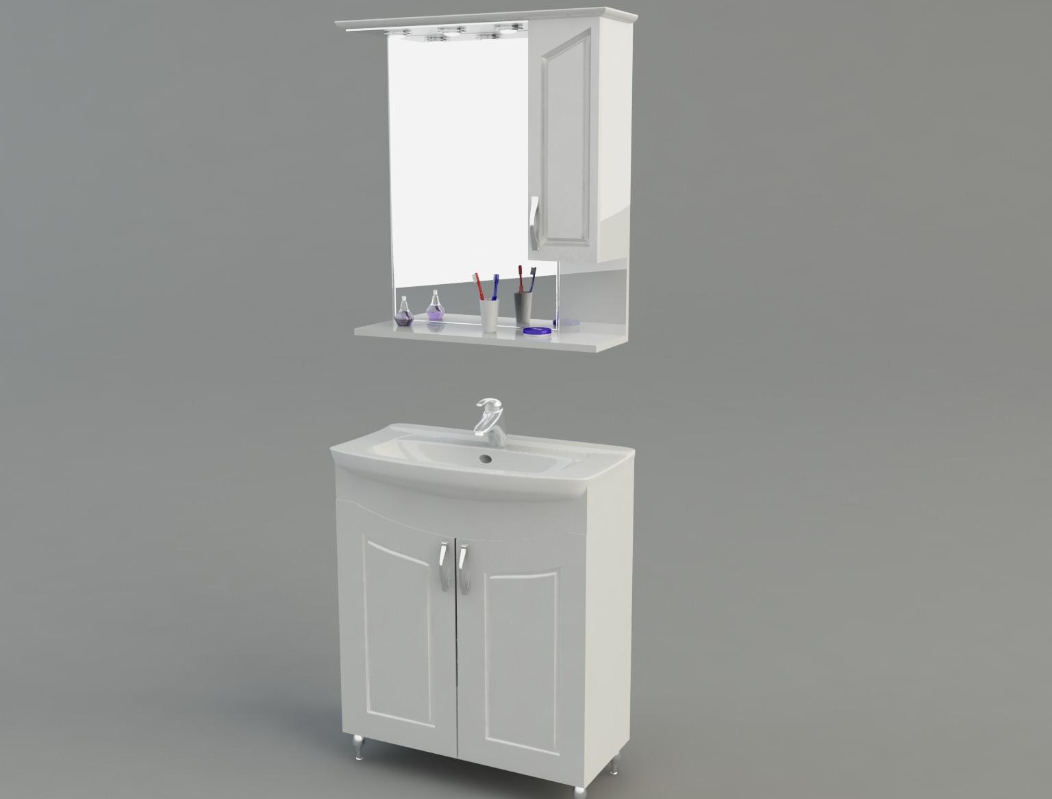 Bathroom cabinet 3d model max for Bathroom 3d