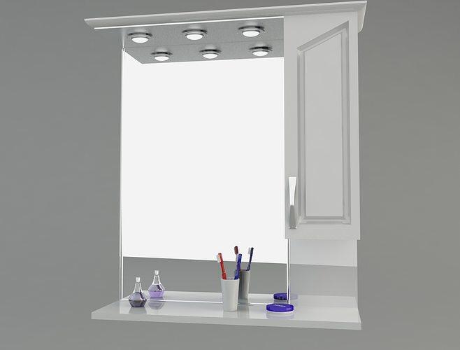 Bathroom cabinet 3d model max for Bathroom models images