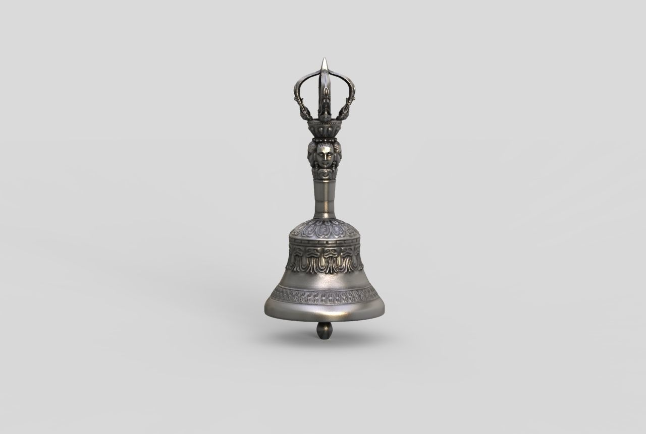 Tibetan Buddhist Ghanta Varja - Dorje Meditation Bell