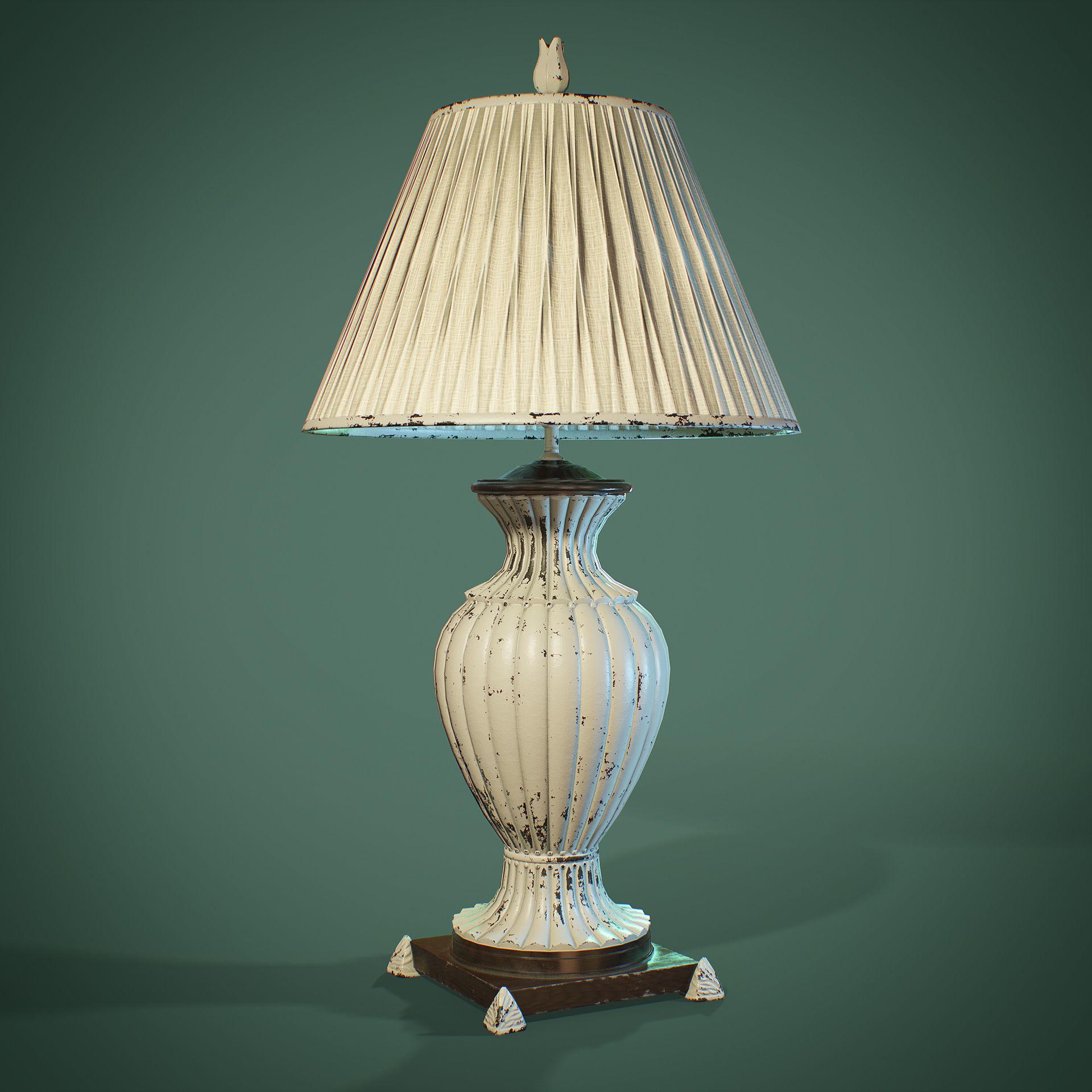 PBR Table Lamp