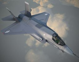 Lockheed Martin F-35B Lightning II 3D Model
