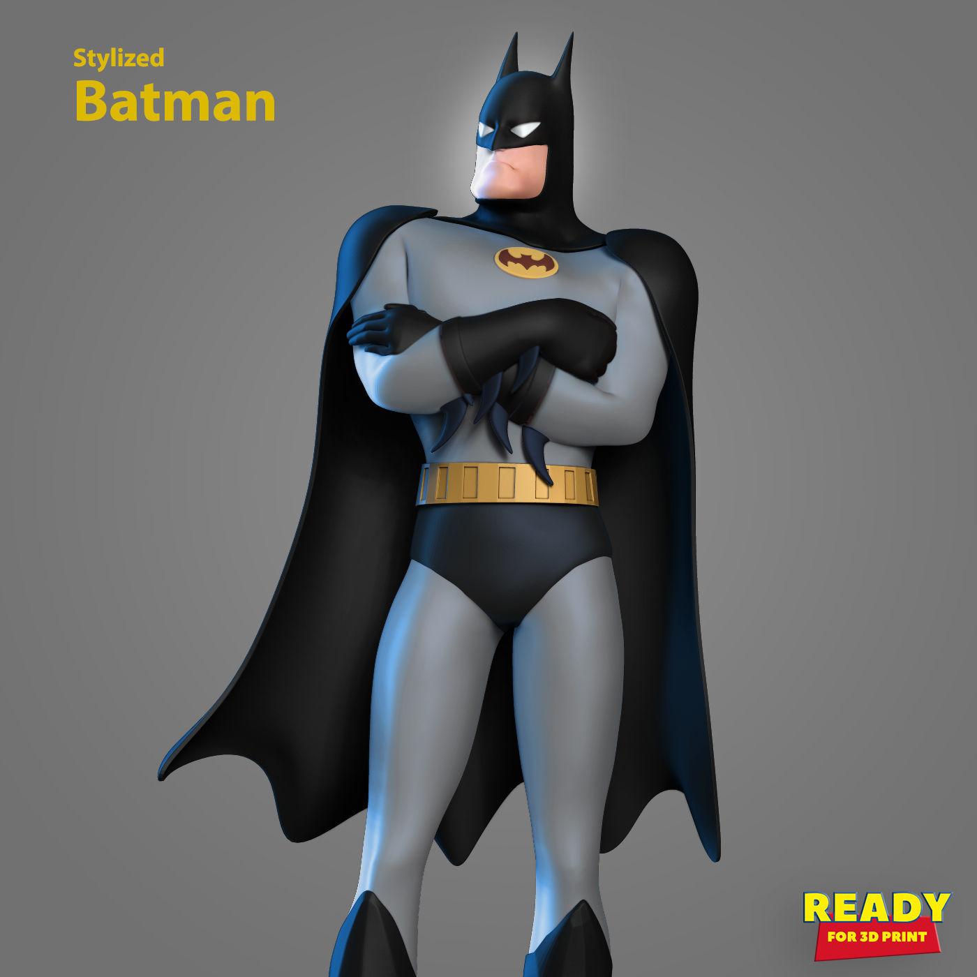 Batman - stylized