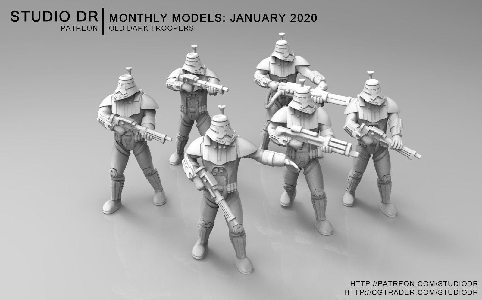 Old Dark Troopers
