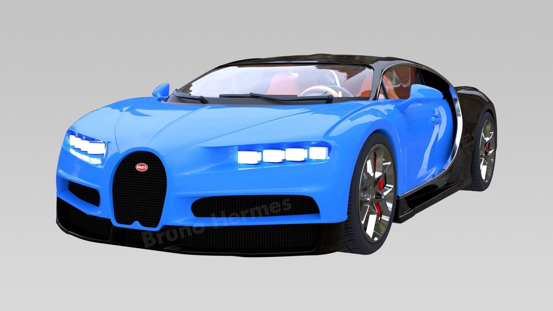 Custom 3D Printing 3D Model Bugatti Chiron 3D Model Bugatti Printing Model Stl File