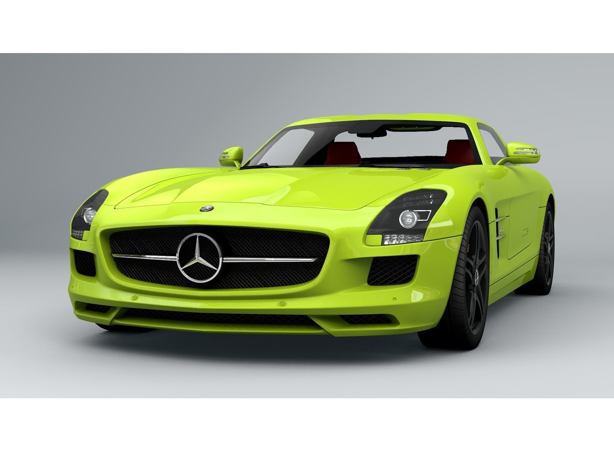 mercedes benz sl free 3d model c4d. Black Bedroom Furniture Sets. Home Design Ideas