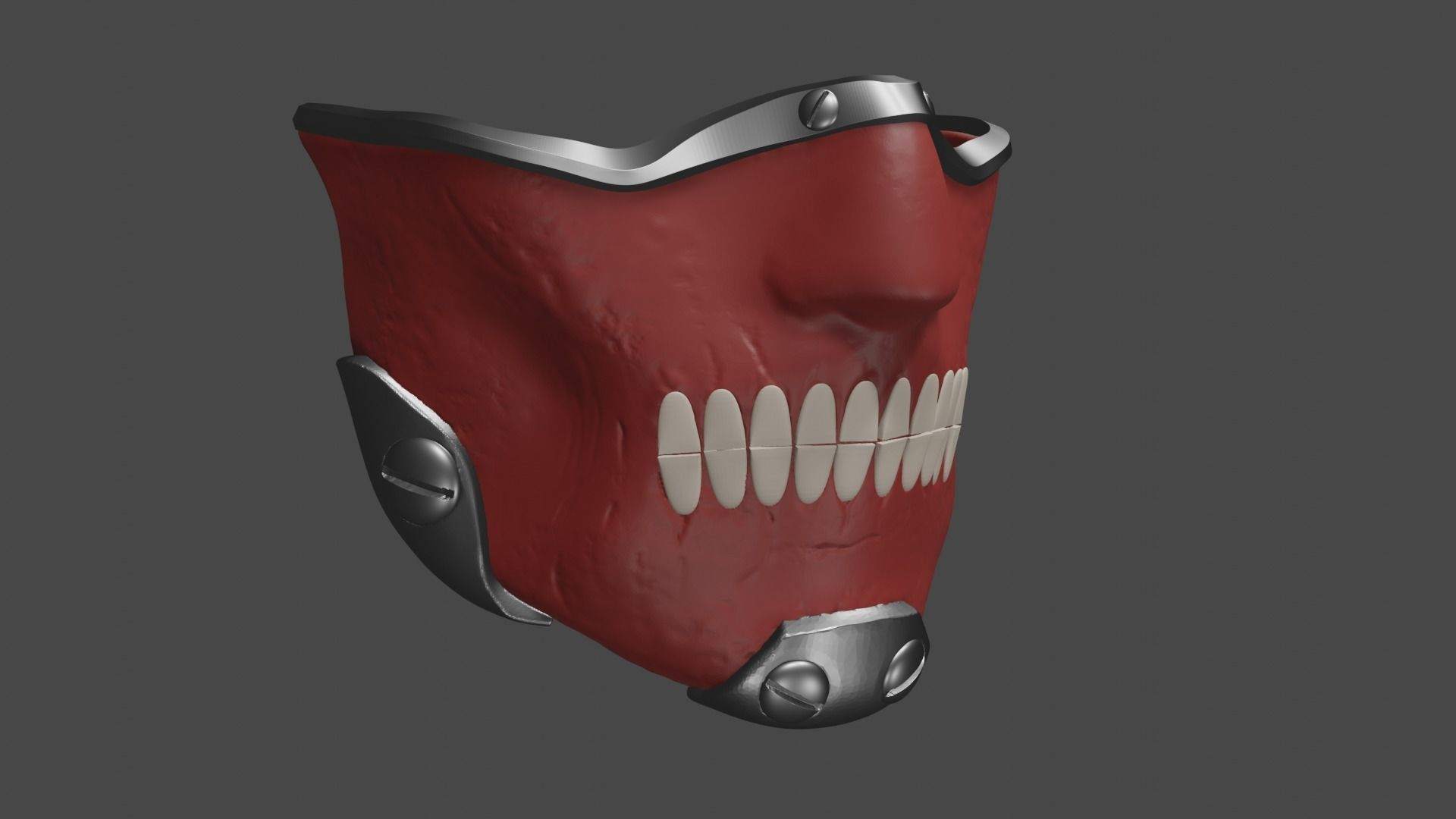 en mask cosplay prop dorohedoro 3d model for
