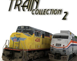 train collection 2 3D Model