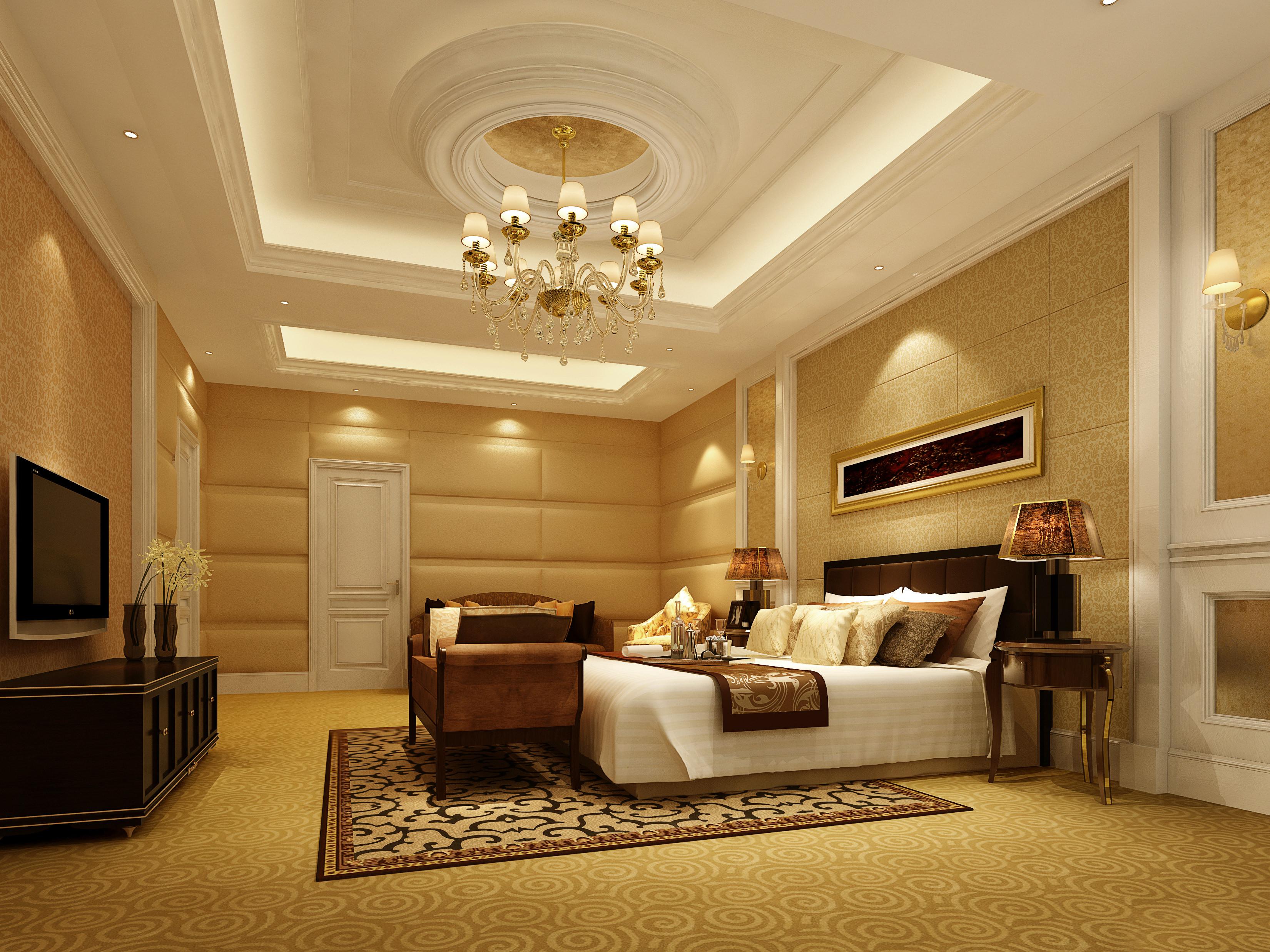 bedroom 3d model max 1 - 3d Max Interior Design Models